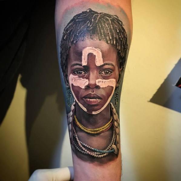 Seminario De Realismo Por Fernando Tampa Tattoo Dixit